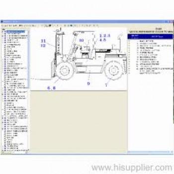 Phần mềm tra cứu phụ tùng DOOSAN FORKLIFT EPC