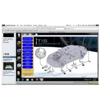 Phần mềm đọc lỗi Techstream 8.00.034 l
