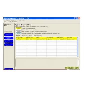 Phần mềm đọc lỗi Techstream 10.00.028