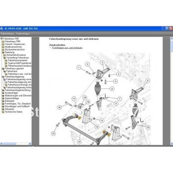 Phần mềm tra cứu phụ tùng  MANWIS WORKSHOP