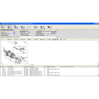 Phần mềm tra cứu phụ tùng TOYOTA INDUSTRIAL EQUIQMENT