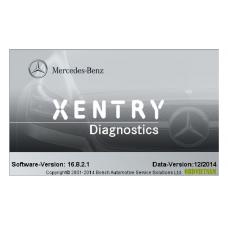 Phần mềm đọc lỗi XENTRY DAS 12.2014